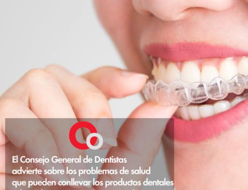 El Consejo General de Dentistas advierte sobre los problemas de salud que pueden conllevar los productos dentales adquiridos por internet y en parafarmacias.